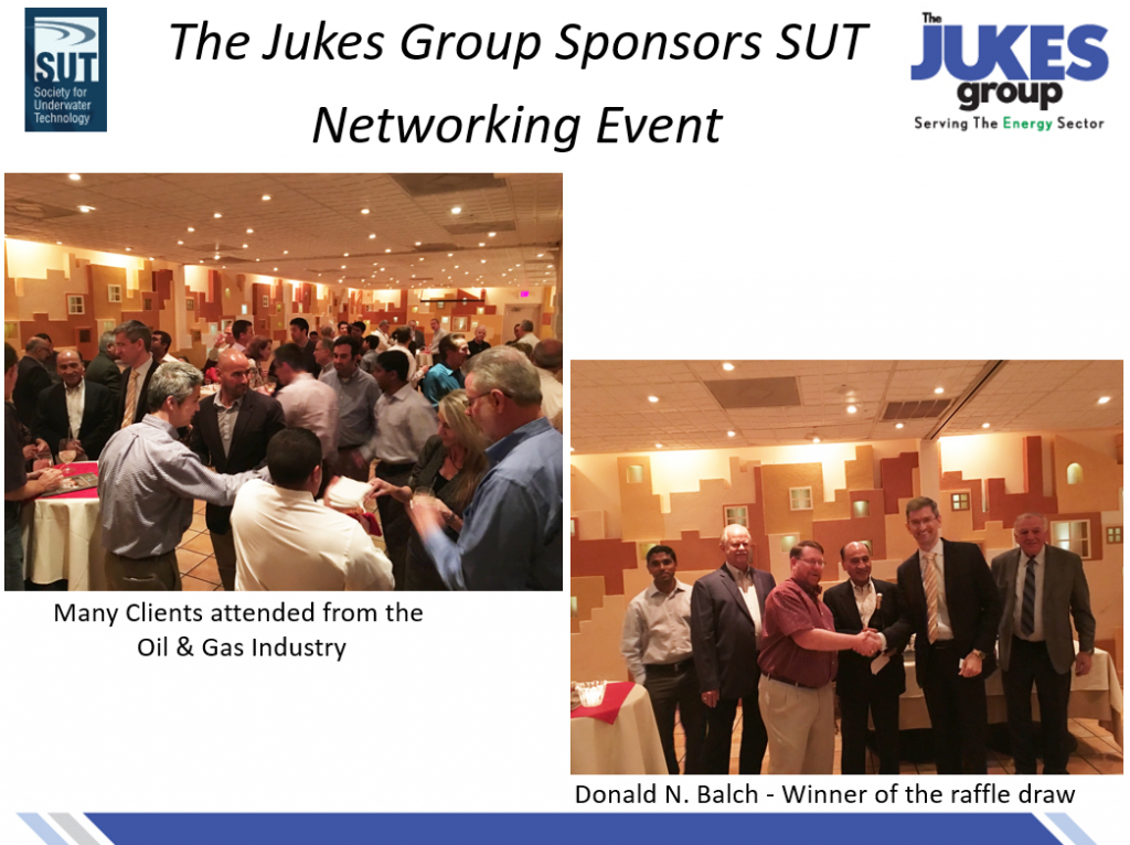 The Jukes Group Sponsors SUT Social Event